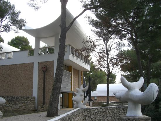 Fondation Maeght i Sankt Paul de Vence