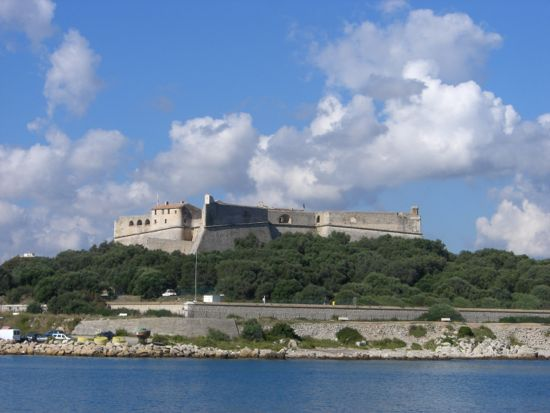Borgen Fort Carré i Antibes