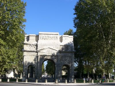 Arc de Triomphe i Orange