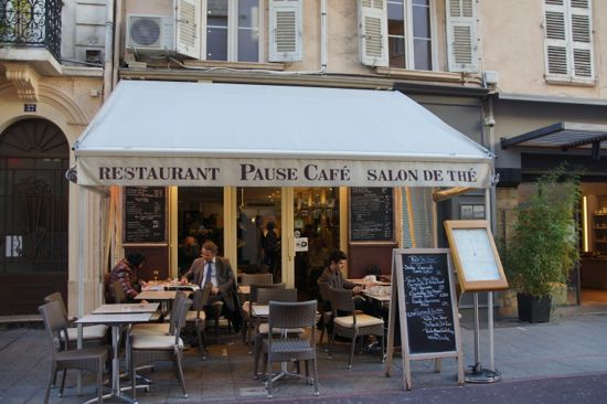 Restaurant Pause Cafe i Cannes