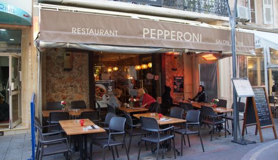 Restaurant Pepperoni i Cannes