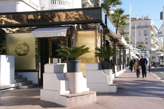 Shopping på La Croisette i Cannes