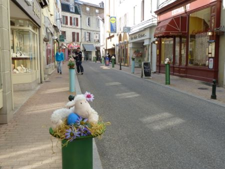 Shopping i Bourg en Besse